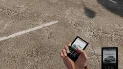 Тема для телефона Mercedes-Benz для GTA 4