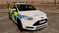 Ford Focus 2013 Uk Police [ELS] для GTA 4