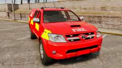 Toyota Hilux London Fire Brigade [ELS] для GTA 4