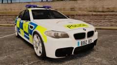 BMW M5 Marked Police [ELS]