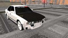 BMW 535i чёрный для GTA San Andreas