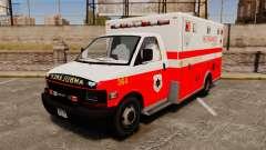 Brute Ambulance FDLC [ELS] для GTA 4