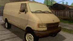 Dodge RAM Van 1500 для GTA San Andreas