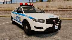 GTA V Police Vapid Interceptor NYPD для GTA 4