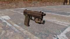 Пистолет HK USP.45 MW3 для GTA 4