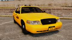 Ford Crown Victoria 1999 NYC Taxi для GTA 4