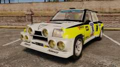 Renault 5 Turbo Maxi для GTA 4