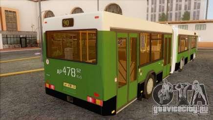 Гармошка для МАЗ 105.060 для GTA San Andreas