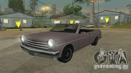 Perennial Cabriolet для GTA San Andreas