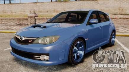 Subaru Impreza 2010 для GTA 4