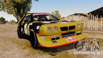 Lancia Delta S4 GroupB для GTA 4