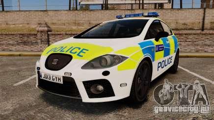 Seat Cupra Metropolitan Police [ELS] для GTA 4