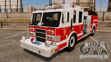 Firetruck Alderney [ELS] для GTA 4