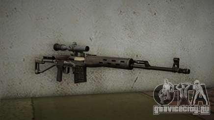 7.62 Снайперская Винтовка Драгунова СВД-С для GTA San Andreas