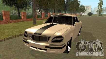ГАЗ 31105 Волга Черная Полоса для GTA San Andreas