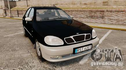 Daewoo Lanos Style 2001 Limited version для GTA 4