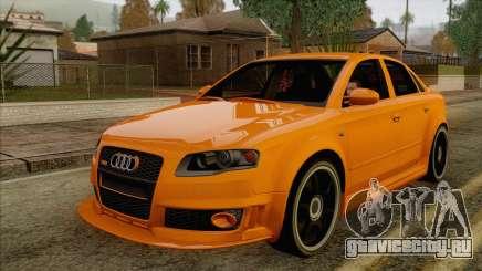 Audi RS4 седан для GTA San Andreas