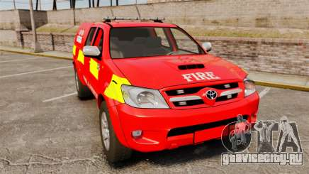 Toyota Hilux London Fire Brigade [ELS] для GTA 4