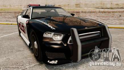 GTA V Bravado Buffalo Supercharged LCPD для GTA 4