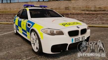 BMW M5 Marked Police [ELS] для GTA 4
