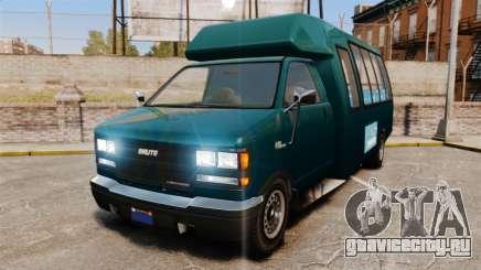 GTA V Brute Tour Bus для GTA 4