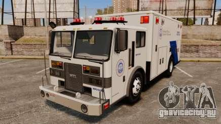 Hazmat Truck NOOSE [ELS] для GTA 4