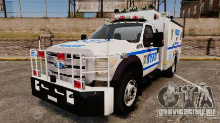 Ford F-550 2012 NYPD [ELS] для GTA 4