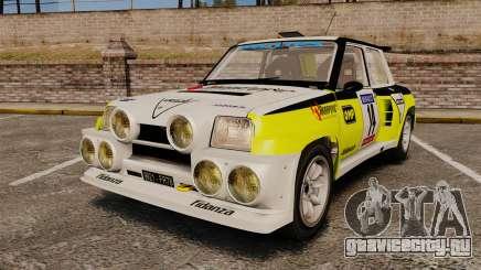 Renault 5 Turbo Maxi для GTA 4