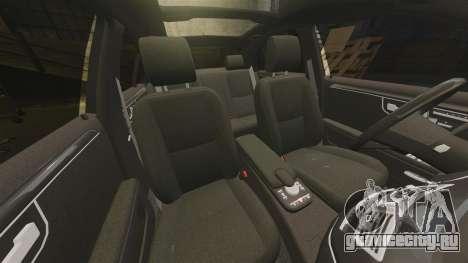 Mercedes-Benz S65 (W221) AMG для GTA 4 вид снизу