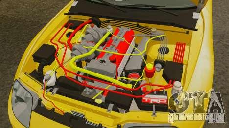 Toyota Supra 1994 (Mark IV) Slap Jack для GTA 4 вид изнутри