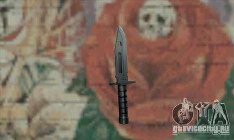 M9 Knife для GTA San Andreas второй скриншот