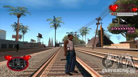 C-HUD Ministry Of Health для GTA San Andreas третий скриншот