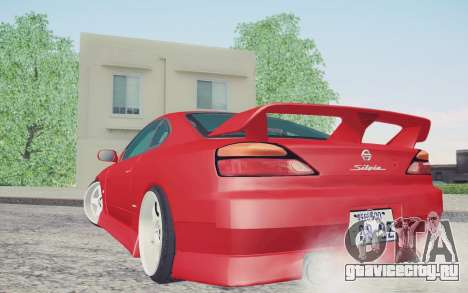 Nissan Silvia S15 BN Sports для GTA San Andreas вид слева
