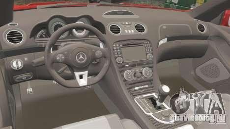 Mercedes-Benz SL65 AMG для GTA 4 вид сбоку