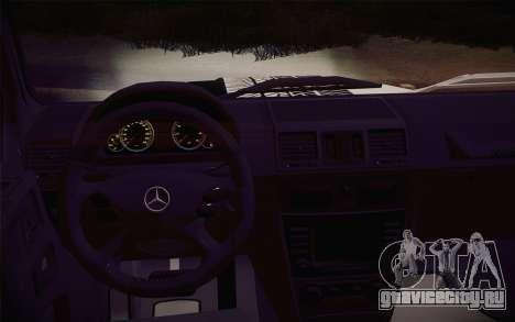 Mercedes-Benz G55 AMG для GTA San Andreas вид справа