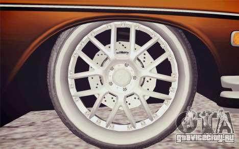 Mercedes-Benz 300 SEL для GTA San Andreas вид сзади слева