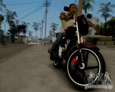 Honda Titan для GTA San Andreas