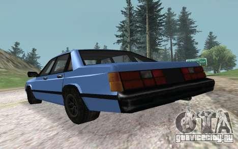 Premier VC для GTA San Andreas вид сзади слева