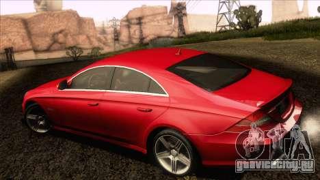 Mercedes-Benz CLS 63 AMG 2008 для GTA San Andreas вид справа