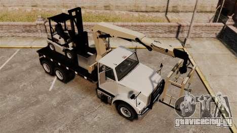 Benson Heavy для GTA 4 вид сверху