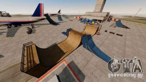 Трюк-парк в аэропорту для GTA 4