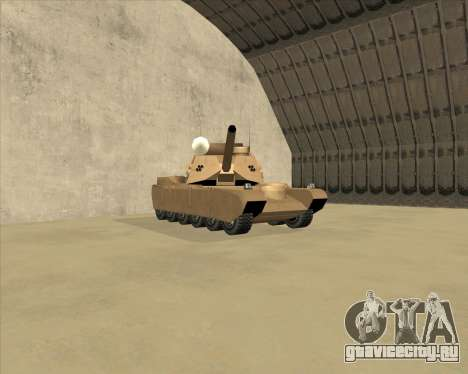 Rhino Mark.VI для GTA San Andreas вид слева