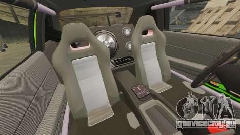Nissan Skyline R34 для GTA 4 вид изнутри
