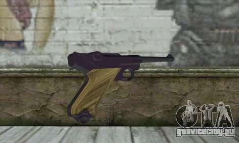 LugerP08 для GTA San Andreas второй скриншот