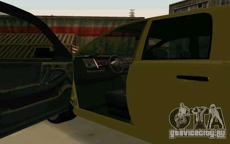 GTA V Bison Version 2 FIXED для GTA San Andreas вид изнутри