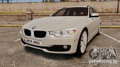 BMW 330d Touring (F31) 2014 Unmarked Police ELS для GTA 4