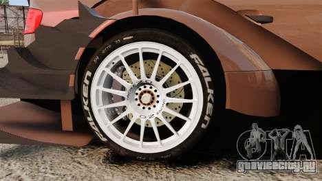 Audi A4 2008 Touring car для GTA 4 вид сзади