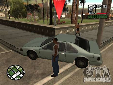 Кетчуп на капоте для GTA San Andreas второй скриншот