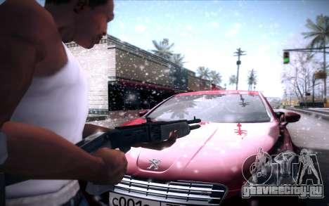 Spas 12 для GTA San Andreas пятый скриншот
