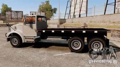 Benson Heavy для GTA 4 вид слева